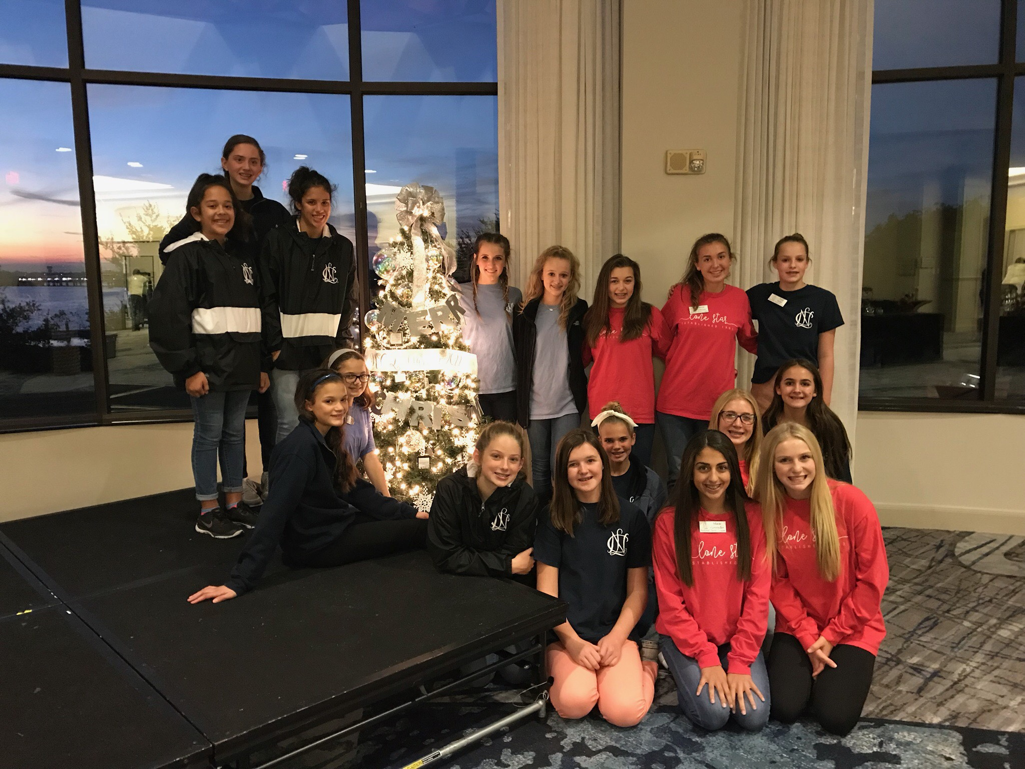 National Charity League members decorate and donate for Festival of Trees