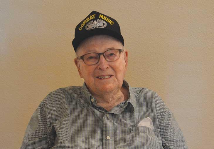 WWII veteran recalls harrowing battle in the Pacific