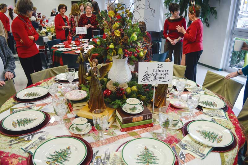 Friends of the Library to hold sold out Christmas Luncheon Dec. 12