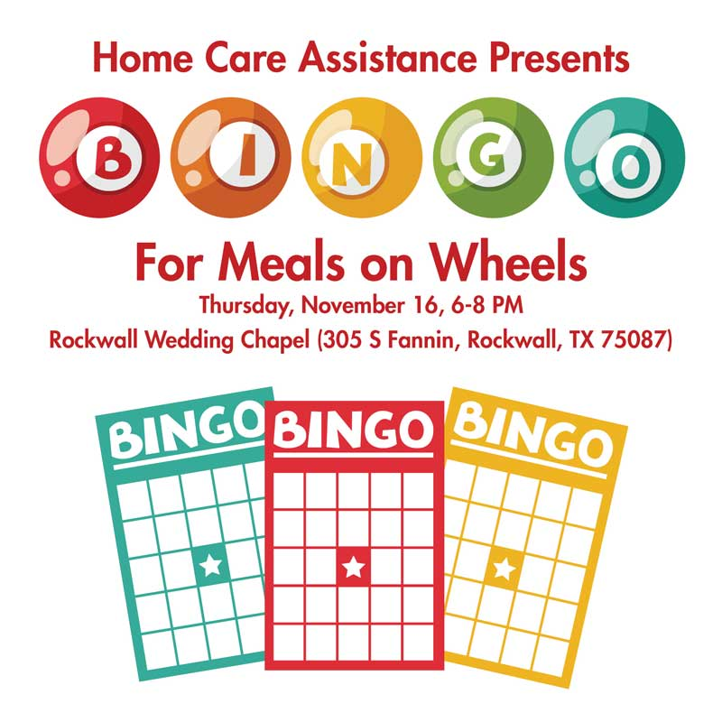 Home Care Assistance presents BINGO for Meals on Wheels