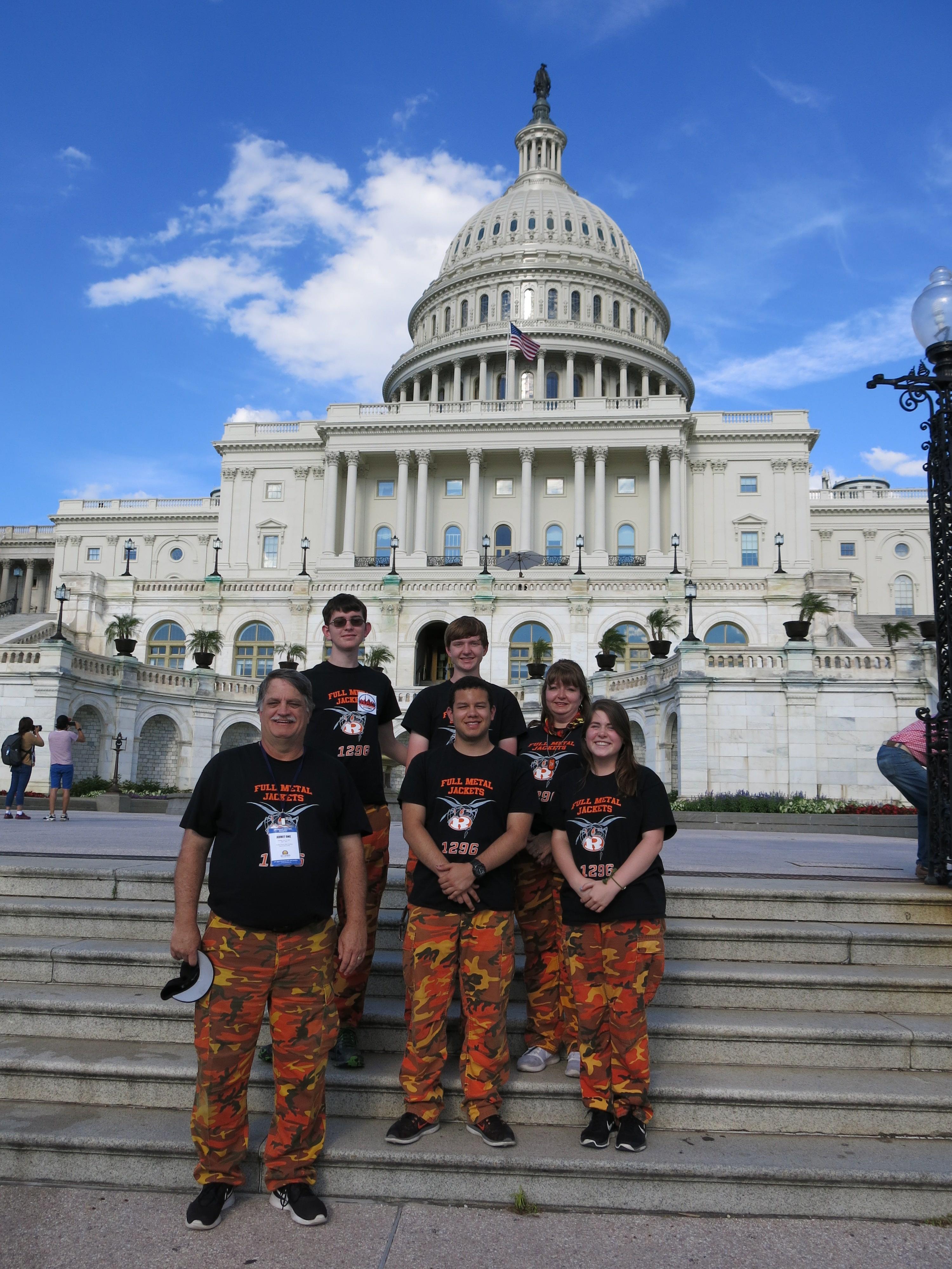 Rockwall High School Robotics Team takes field trip to Washington, D.C.