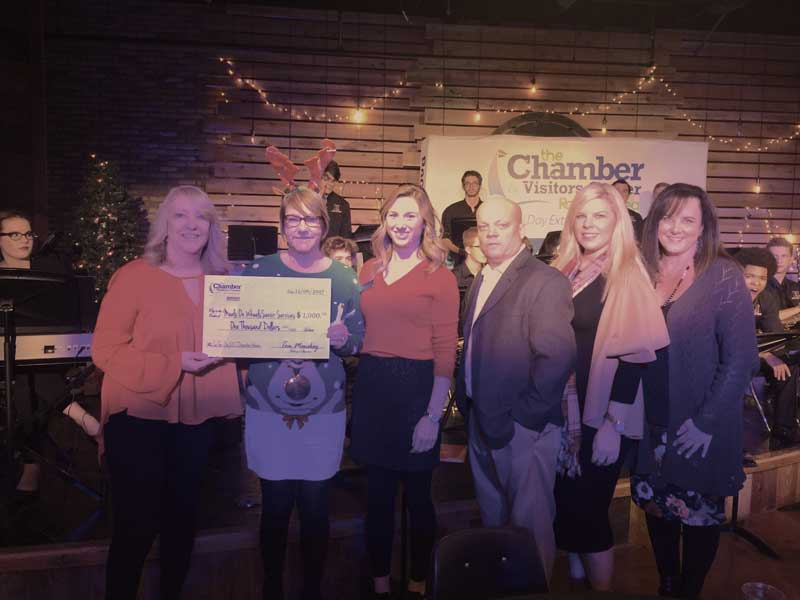 Rockwall Chamber gifts $1000 to Meals on Wheels