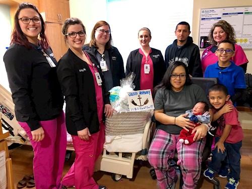 Texas Health Presbyterian Hospital Rockwall welcomes first baby of 2018