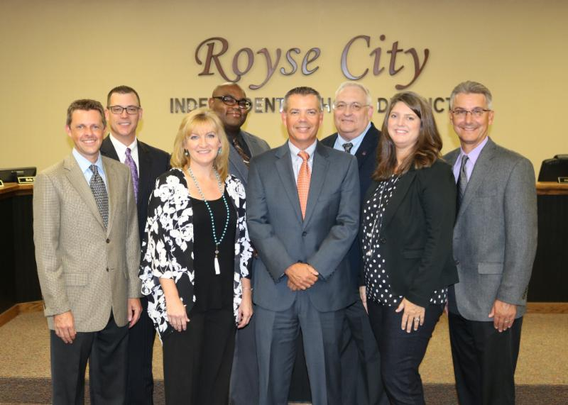 Royse City ISD thanks School Board members