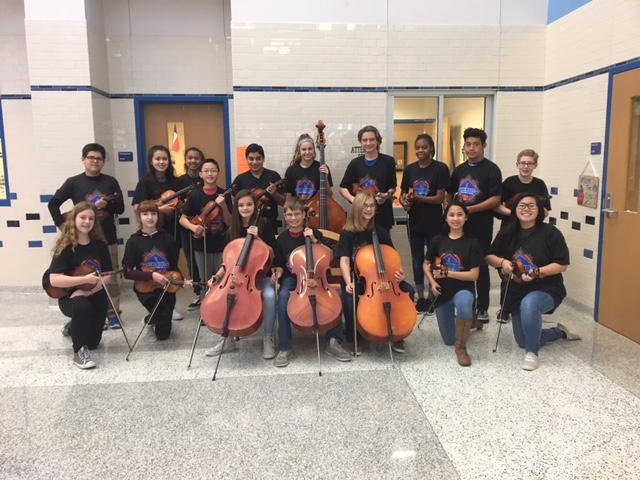 Williams Middle School students selected to Rockwall All-City Orchestra