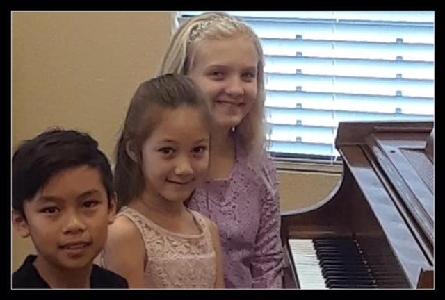 Students perform in Rockwall Music Teacher Association's Scales Olympics
