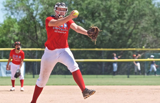 8th grade softball standout commits to Oklahoma State University