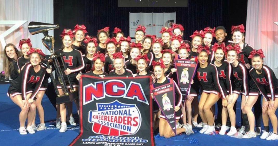 Rockwall-Heath Varsity Cheer Team wins NCA National Championship
