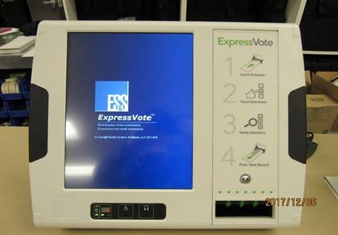 Voting goes digital in Rockwall County