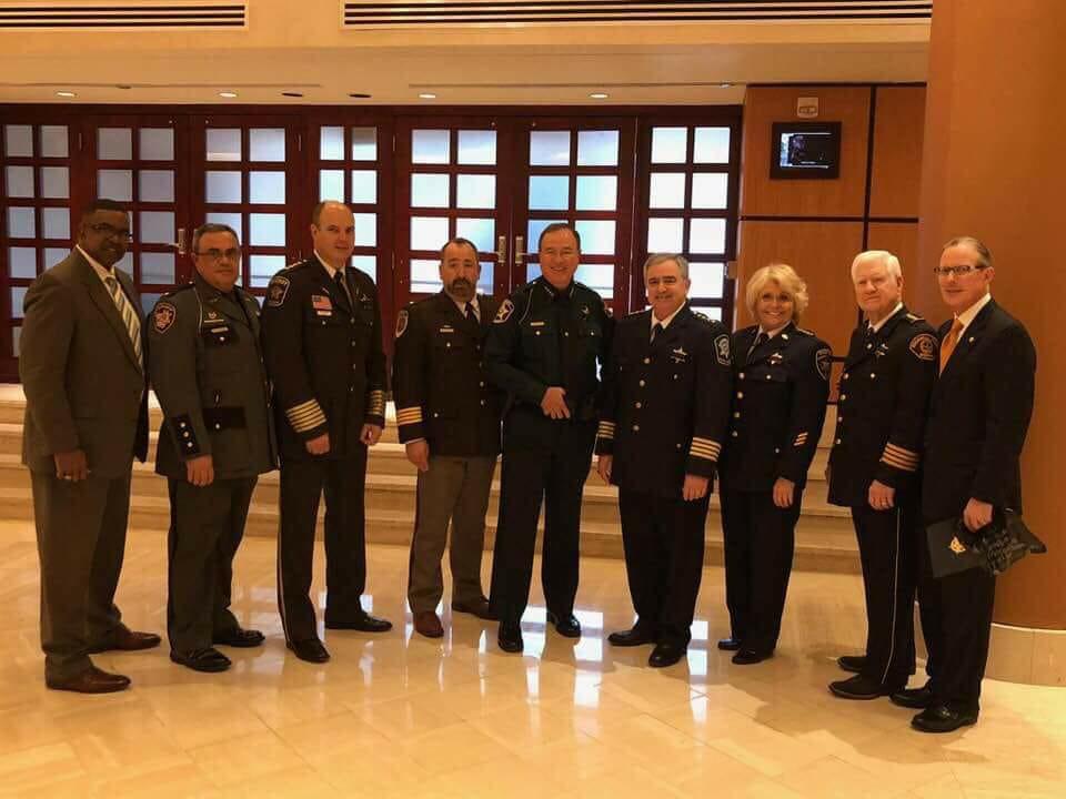 Nat'l Sheriffs' Association meets with President Trump