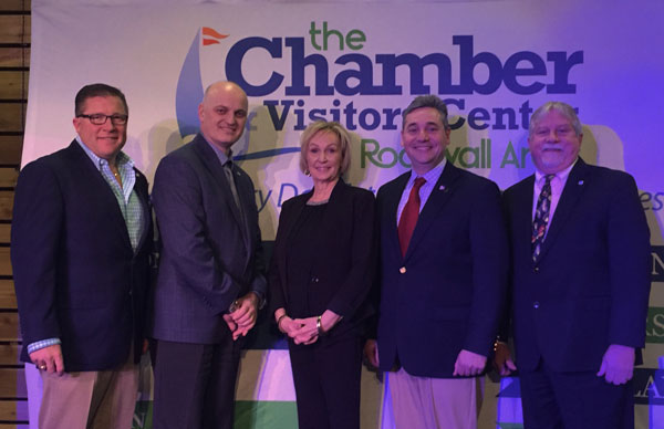Mayors provide city updates at Rockwall Chamber Luncheon
