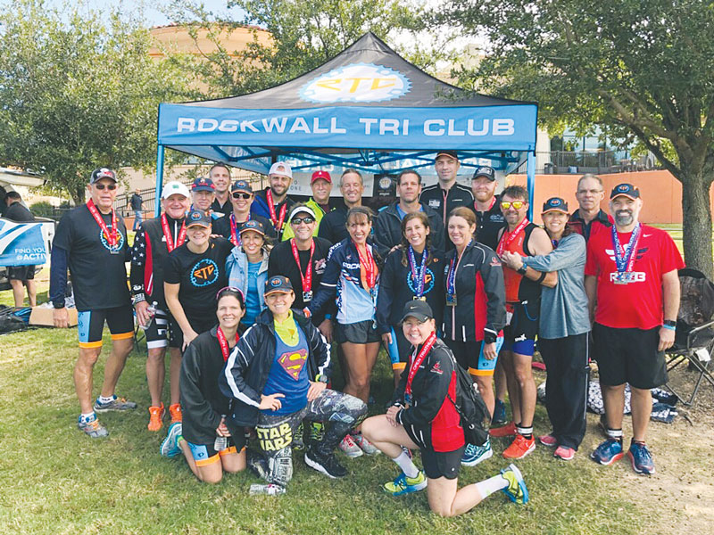 Rockwall club connects triathletes from all walks of life
