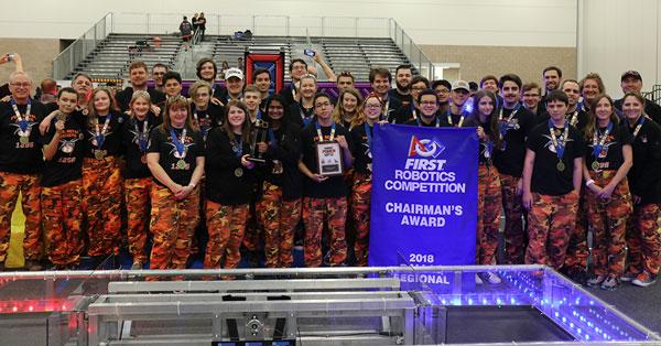 Rockwall Robotics advances to FIRST Worlds Championship