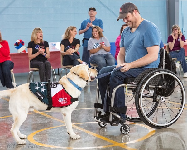 Patriot PAWS and Texas Department of Criminal Justice celebrate 10 years of giving back together at prison graduation