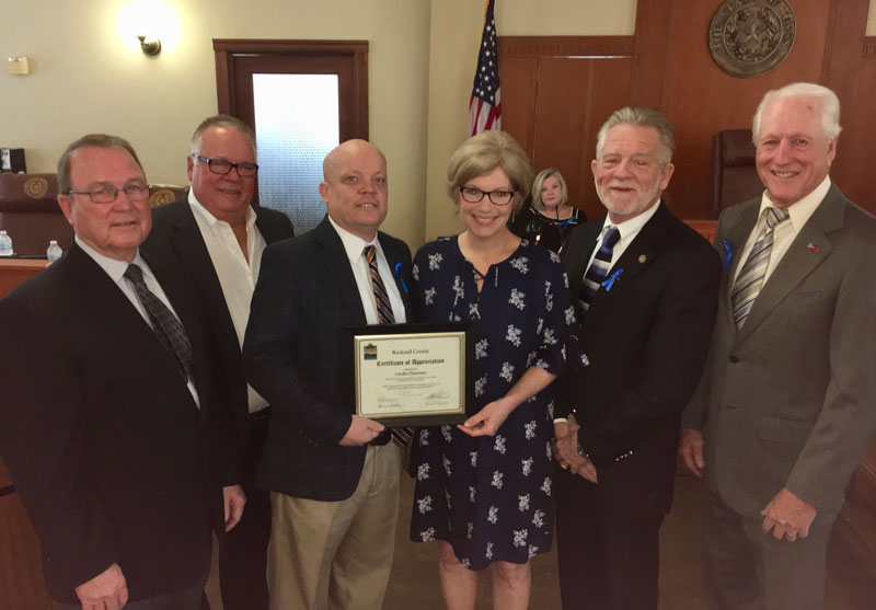 Commissioners Court honors Veteran Services Officer for Rockwall County