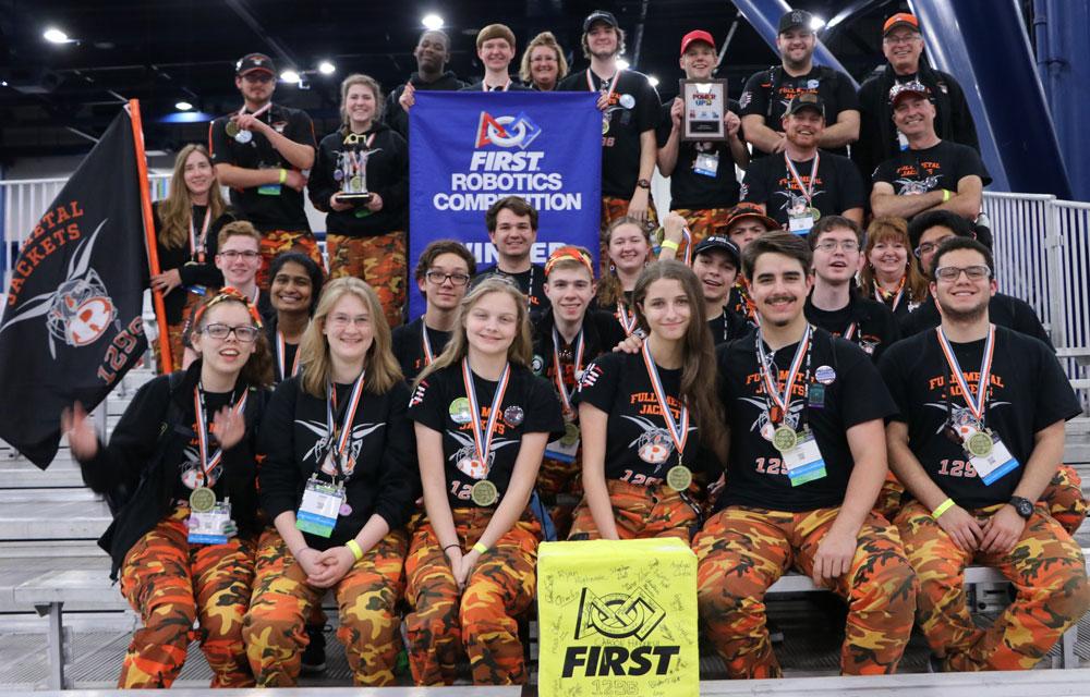 Rockwall High School Robotics advances to Einstein