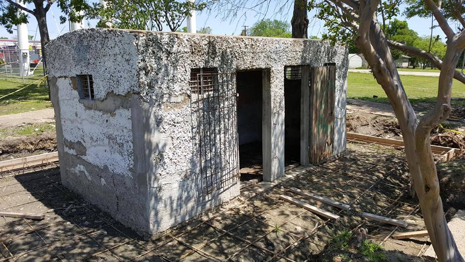'Leveling Party' for Royse City's Historic Calaboose Jail