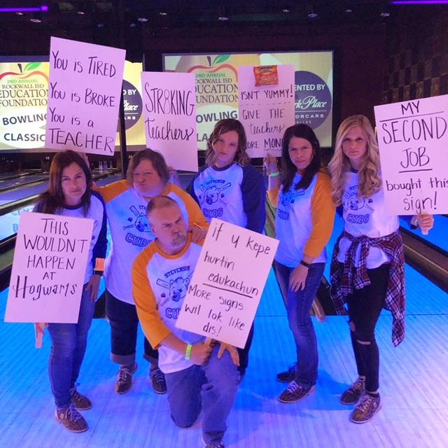 Rockwall ISD Education Foundation hosts bowling fundraiser