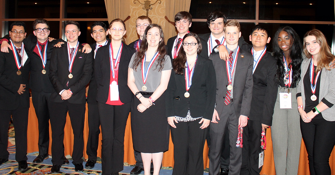 Rockwall-Heath students win multiple awards at National Leadership Conference