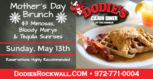 Waterfront Brunch at Dodie's at The Harbor this Mother's Day
