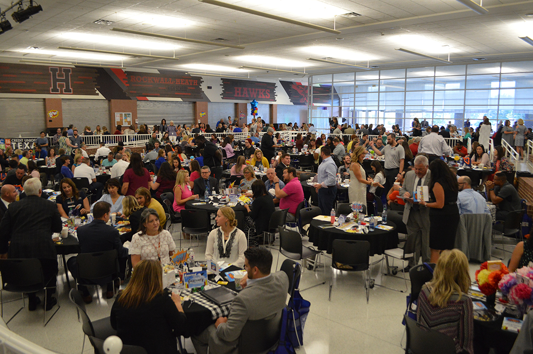 Rockwall ISD New Teacher and Employee Welcome Breakfast 2018