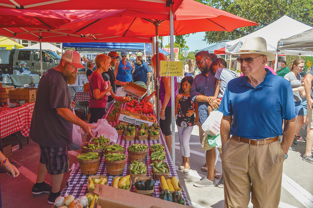 Celebrating the Roots of the Rockwall Farmers Market