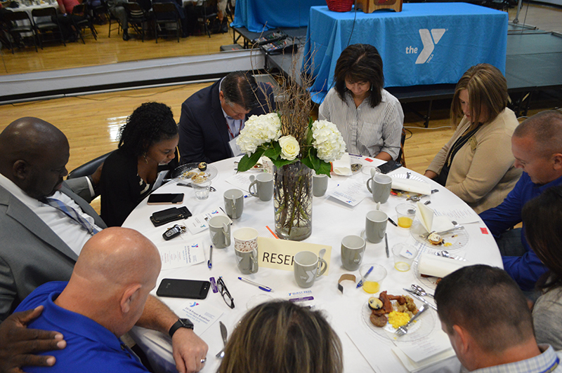 Rockwall YMCA Teacher Prayer Breakfast 2018