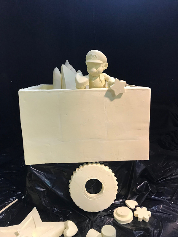 2018 State Fair of Texas Butter Sculpture