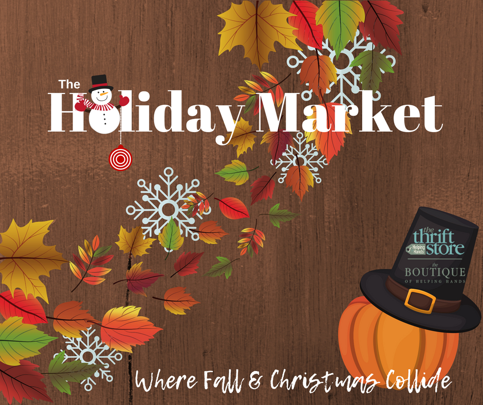 Shop the Helping Hands Holiday Market Sept. 29