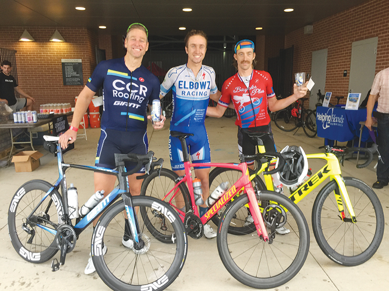 Hot Rocks Bike Ride Draws Hundreds of Riders Despite Rain