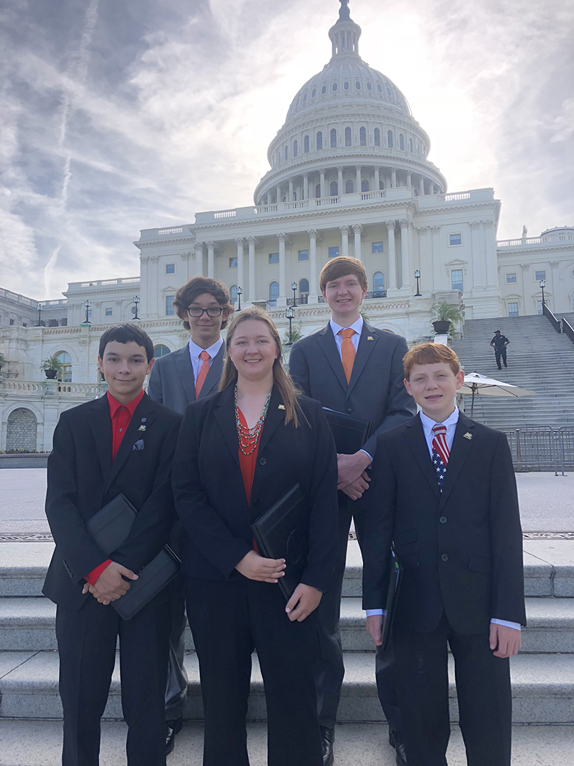 Rockwall High Robotics Students Back STEM Funding at National Advocacy Conference
