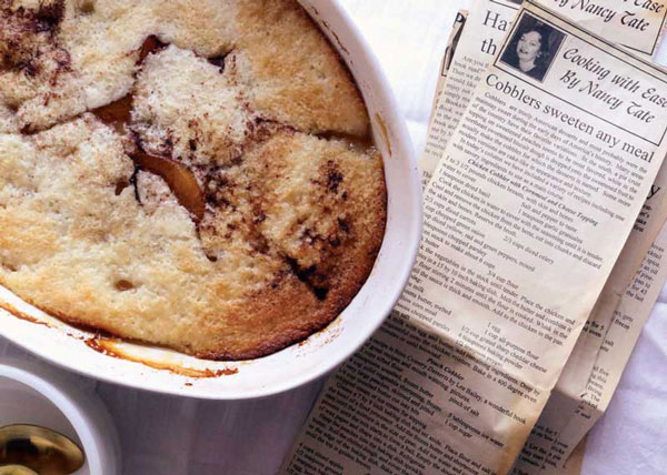 Cooking with Ease: Easy Peach Cobbler