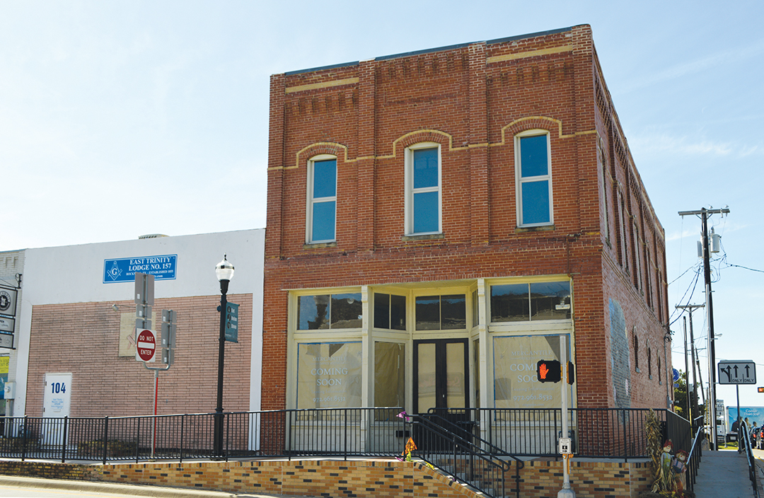 Mercantile Office Suites Coming to Downtown Rockwall's Historic Landmark Building