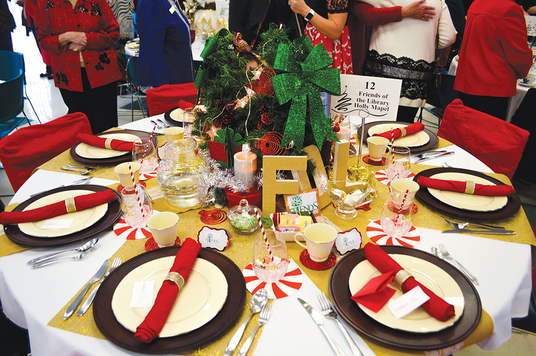 Friends of the Library Christmas Luncheon