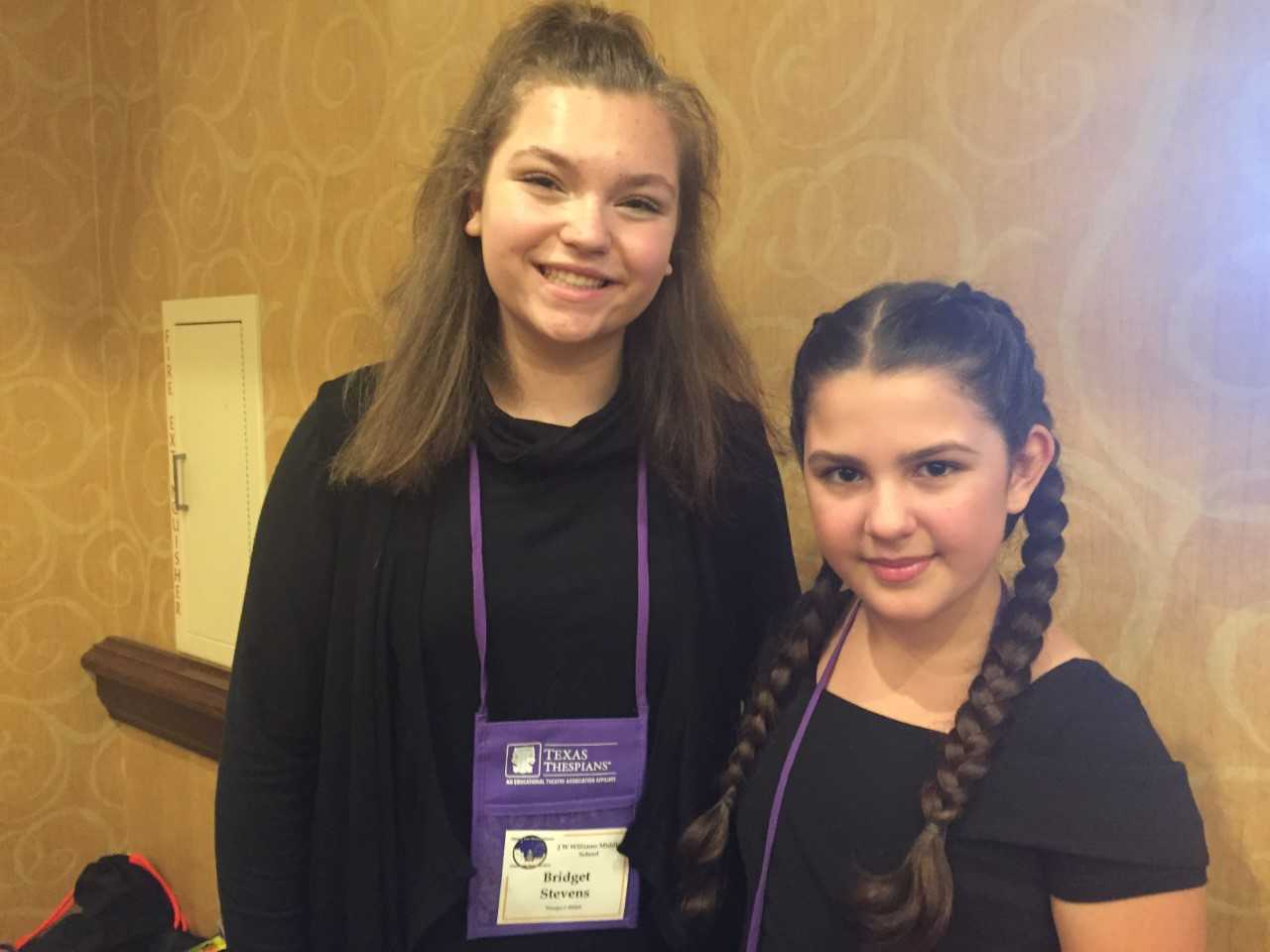 Williams Middle School Theatre Students Compete in Texas Thespians Festival