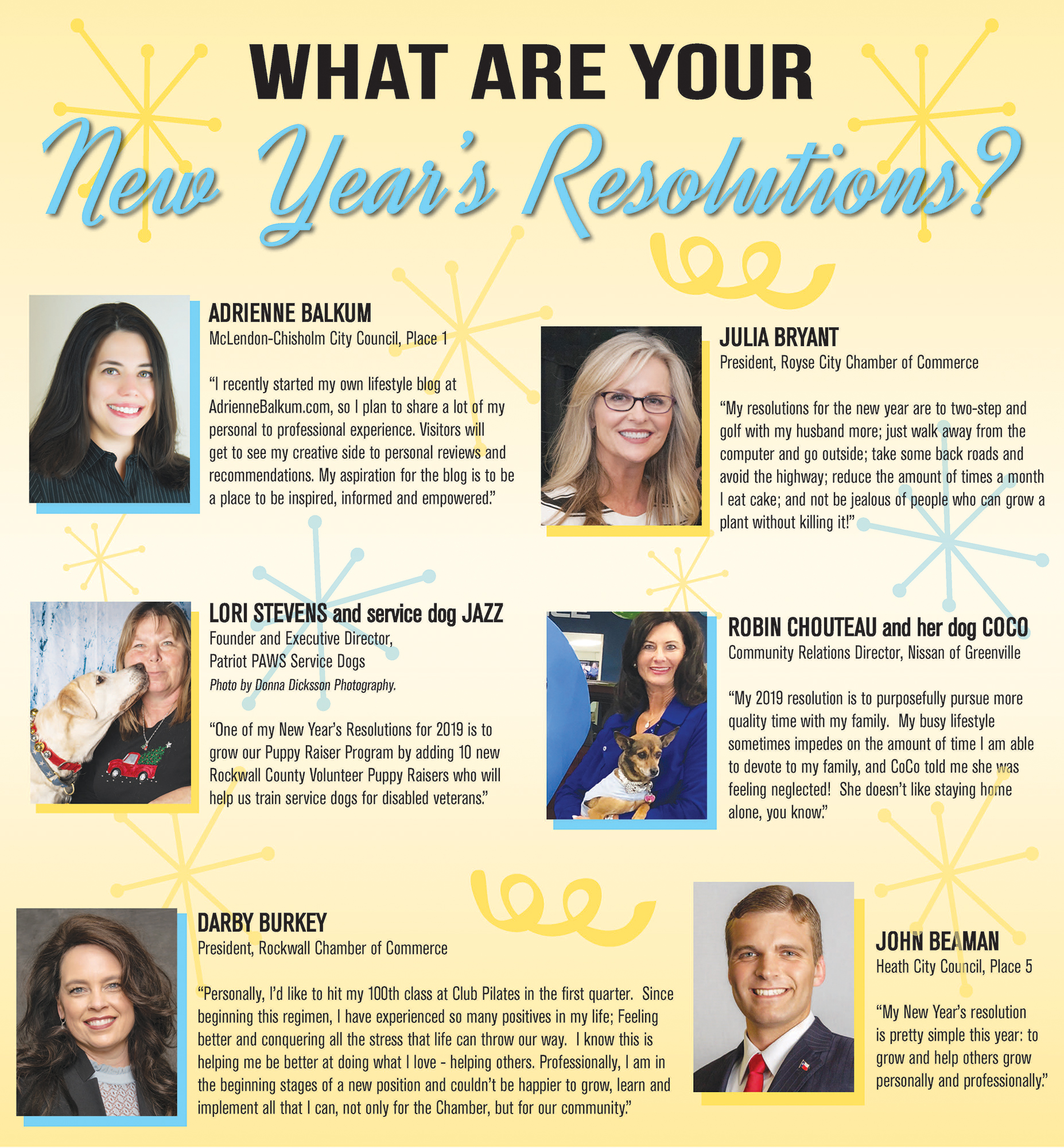 What Are Your New Year S Resolutions Blue Ribbon News Blue