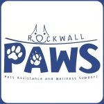 Rockwall Paws logo