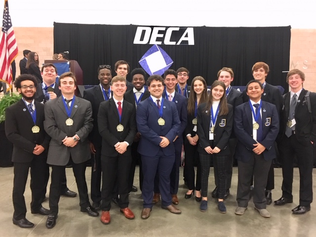 Dr. Gene Burton College & Career Academy DECA Students Qualify for DECA State Competition