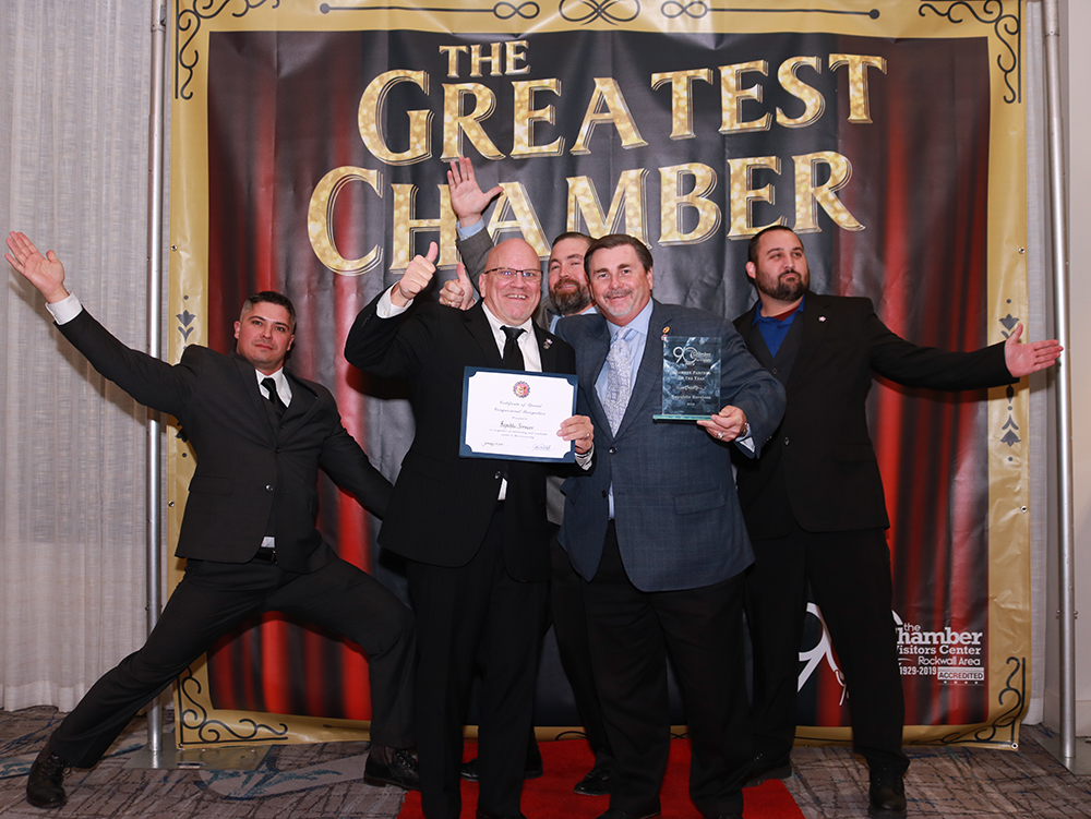 The Greatest Chamber: Rockwall Chamber Celebrates 90 Years with Circus-Themed Awards Banquet