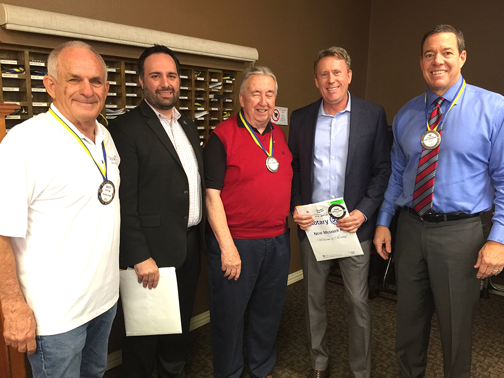 Rockwall Noon Rotary Welcomes Two New Members