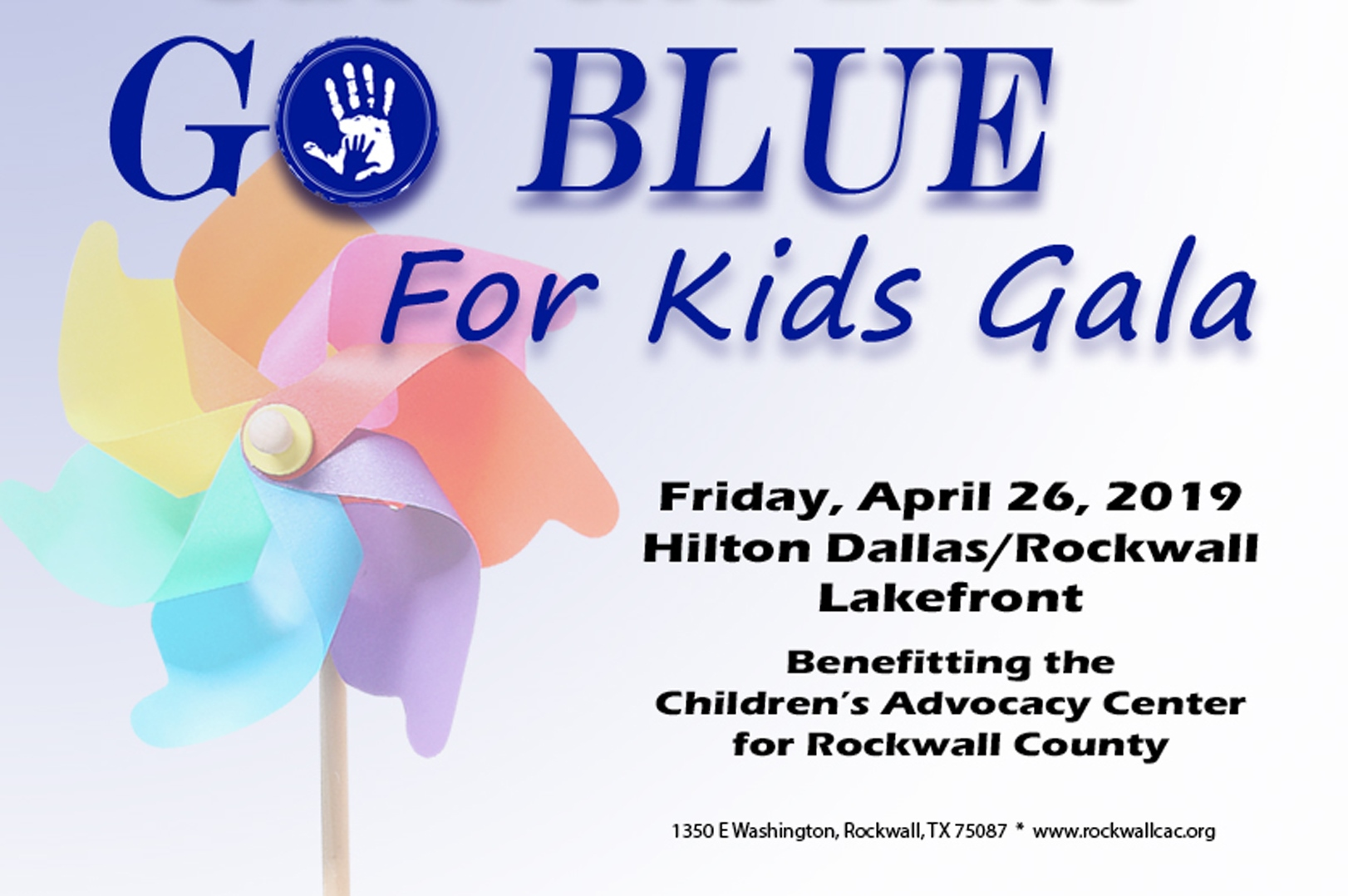 Children's Advocacy Center for Rockwall County to Host 'Go Blue for Kids' Gala
