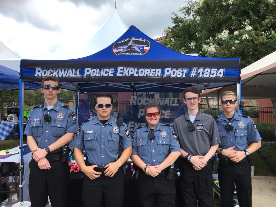 Police Explorers: Discovering Career Options in Law Enforcement