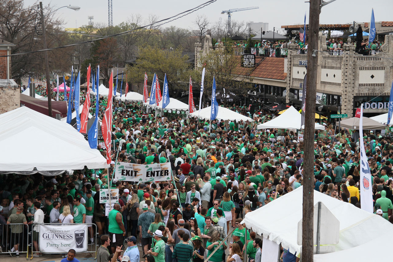 Annual St. Patrick's Day Block Party March 16 in Lower Greenville