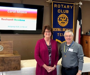 Breakfast Rotary Welcomes the Rainbow Room of Rockwall County