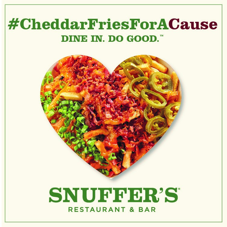 Rainbow Room Fundraiser at Snuffer's in Rockwall Feb. 27