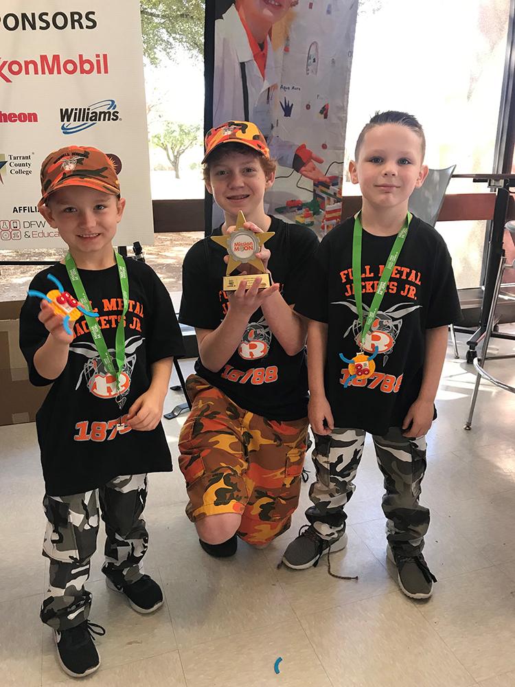 FIRST Lego League Jr Team Wins Honors