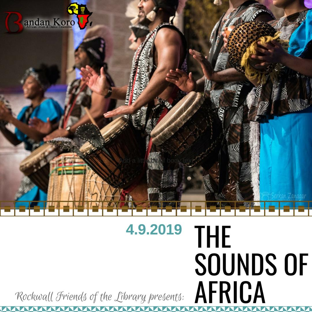 Friends of the Library Luncheon: The Sounds of Africa