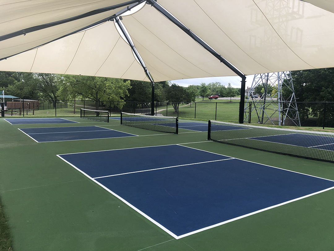 Ribbon Cutting for New Harry Myers Park Pickleball Courts May 1