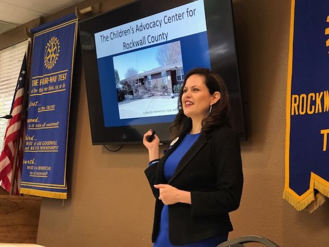Breakfast Rotary Welcomes the Children's Advocacy Center for Rockwall County