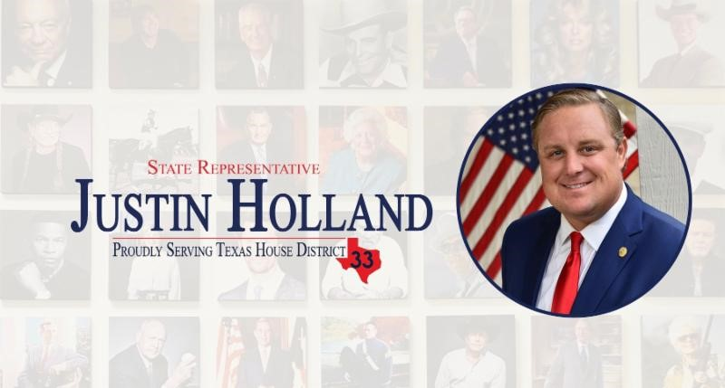 Rep. Justin Holland earns 100% NFIB voting record on small business issues